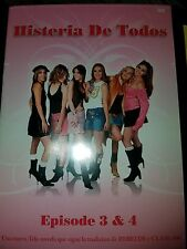 Histeria de Todos - Eps 3  4 (DVD, 2007) NEW and Sealed