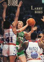 1996 TOPPS STARS BASKETBALL CARD # 8 - HOF LARRY BIRD - BOSTON CELTICS
