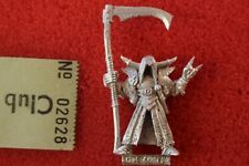 Games Workshop Warhammer Chaos Sorcerer Champion of Nurgle with Sycthe and Metal