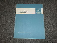 1960 Mercedes Benz 190SL Shop Service Repair Manual Convertible 1961 1962 1963