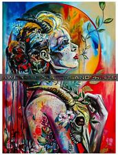 "CAPRICORN: Zodiac Astrological Sign Capricorn, Big Poster Print.  11""x14"""