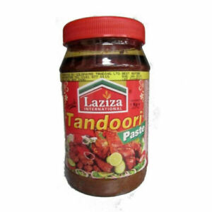 Laziza Tandoori Paste 1kg Jar x 1 Bottle Traditional Tandoori flavour