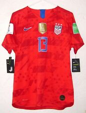 USA Nike Womens WC 2019 Alex Morgan Player Issue Away Soccer Jersey Very Rare