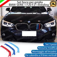 BMW SERIE 1 F20 F21 RESTYLING COVER PER GRIGLIA A 9 LINEE IN STILE BMW M SPORT