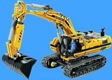 LEGO Technic 8043 - Motorisierter Raupenbagger  Top Zustand -komplett