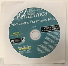 Encyclopedia Britannica Homework Essentials Plus Cd-Data Disc-Win/Mac-04042