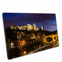 Print on Canvas city of Durham Cathedral on the River Wear Wall Art 30x20""