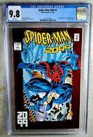 Spider-man 2099 #1 Marvel 1992 Origin Red Foil Cover CGC 9.8 NM/MT Comic P0017
