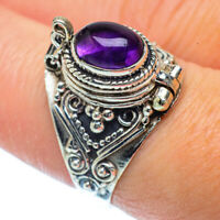Amethyst 925 Sterling Silver Ring Size 8 Ana Co Jewelry R36340F