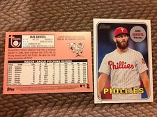 Jake Arrieta #721 Phillies 2018 TOPPS HERITAGE TRADED High number 5x7 #/49 Made