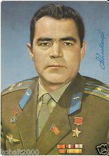VOSTOK 3 RUSSIAN SOVIET COSMONAUT NIKOLAEV  AUTOGRAPH SIGNED COLOR POSTCARD 1
