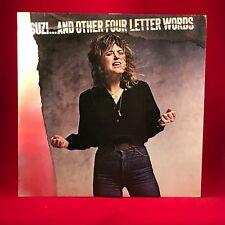 SUZI QUATRO Suzi .And Other Four Letter Words  UK Vinyl LP EXCELLENT CONDITION b