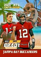 Tom Brady Tampa Bay Buccaneers 2020 Free Agent Limited Edition Card