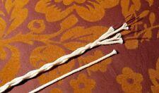 Reine Baumwolle, Geflechtschlauch, Gewebeschlauch, natur, 0,5-1,3 mm