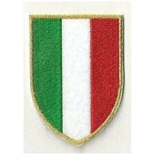 [Patch] SCUDETTO ITALIA cm 6,5 x 9 toppa ricamata ricamo termoadesiva -430