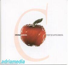 CRVENA JABUKA CD Svijet je lopta sarena Album 1997 Sarajevo CROATIA Peljesac Hit