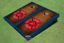 Maltese Cross on Rosewood Custom Cornhole Board