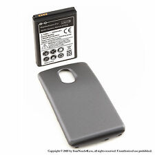 3600mAh Extended Battery for Samsung Galaxy Nexus Prime GT-i9250 Black Cover