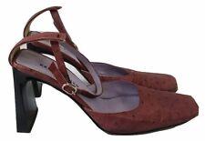 KAREN MILLEN Shoes Size 4 Dusky Pink Designer Mary Janes Wedding Office Races