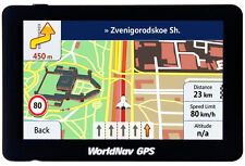 WorldNav 588060 WorldNav 5880 High-Resolution 5 Inch Truck GPS New
