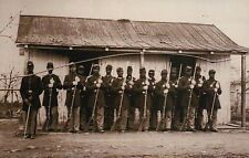 107th US Colored Troops, African American, Black Soldiers --- Civil War Postcard