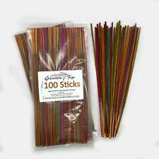 100s Incense Sticks Incenses Assorted Mixed Random Natural Made INDIA Handmade A