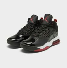 🔥100% Auth Jordan Maxin 200 Basketball Shoe in Black/Gym Red/White Colorway!🔥