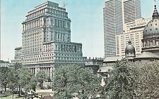 CN50.Vintage Postcard. Dominion Square, Montreal.World Exhibition City,1967