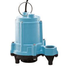 Little Giant 6EN-CIM - 1/3 HP Cast Iron Effluent Pump w/ 20' Cord (Non-Automa...