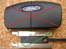 FORD REMOTE FLIP KEY ONLY C-MAX FIESTA FOCUS GALAXY MONDEO CUT TO CODE PHOTO