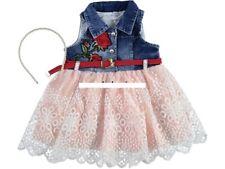 Mädchen Jeanskleid, Partykleid, Kleid Gr. 86, 92