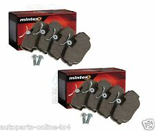 LAND ROVER DISCOVERY 2 TD5 - FRONT & REAR BRAKE PAD KIT MINTEX - SFP500150/130