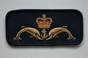 Royal Navy Submariner Qualification Cloth Chest Badge - New