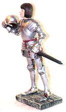 Statuette Jeanne d'Arc en armure