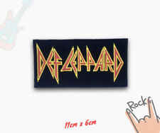 Def Leppard English Rock Band Iron on Sew on Embroidered Patch