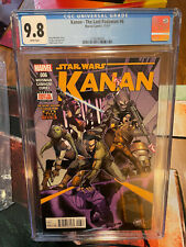 Kanan The Last Padawan #6 CGC 9.8 - 1st Full Sabine Wren, Ezra Bridger REBELS