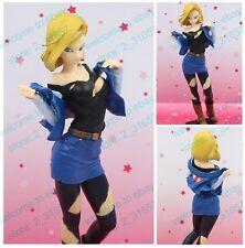 Dragon Ball Z Glitter & Glamours lazuli Android No.18 sexy girl PVC figure nobox