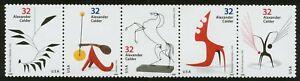 #3202a 32c Alexander Calder, Se-Tenant Strip, Mint **ANY 5=FREE SHIPPING**