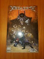 Batman Dark Nights: Death Metal #1 Megadeth Bands Variant Italian Edition