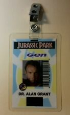 Jurassic Park Set 3 World Dinosaur Costume ID Badge Cosplay Halloween Prop