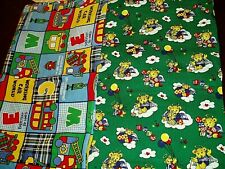 """New Adorable, """"Kids Themed, Lot of 2, Fabric"""", Corduroy and Cotton"""