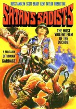 Satan's Sadists DVD Movie Film transfer Biker Motorcycle 1969