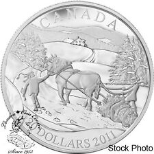 Canada 2011 $20 Winter Scene Silver Coin