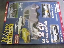 µ? Revue Retro Passion n°113 Talbot Lago Record T2 6Dossier Citroen Porsche 550