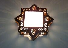 Authentic Handmade Moroccan Star Shaped Wall Light Shade Lampshade Lantern