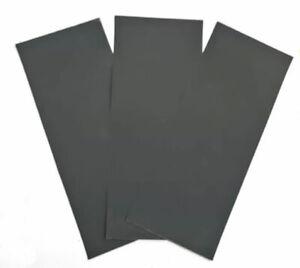 Papel lija fina para plastico, resina y metal 3 unidades 3 x 2000 Tectime