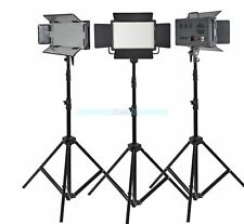 Godox 3X 500 LED Studio Continuous Light Kit For Video Wedding Fashion 3300-5600
