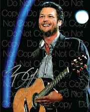 Blake Shelton signed country singer 8X10 photo picture poster autograph RP