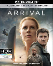 Arrival [New 4K UHD Blu-ray] With Blu-Ray, Digitally Mastered In Hd