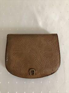 Aigner Portemonnaie Damen Gebraucht Cognacfarben